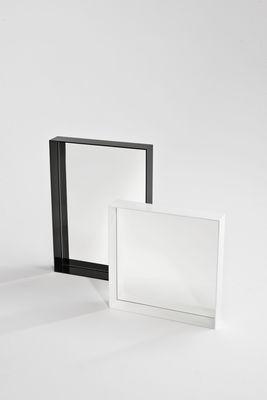 miroir only me l 50 x h 70 cm noir opaque brillant kartell