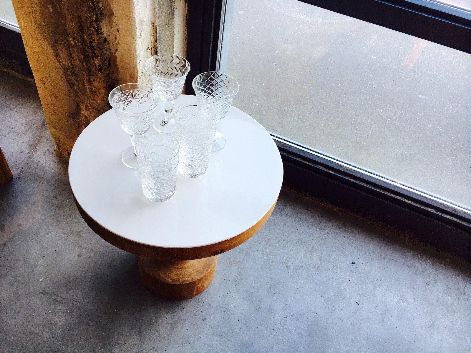 cuttings 4er set reliefmuster pols potten weinglas. Black Bedroom Furniture Sets. Home Design Ideas