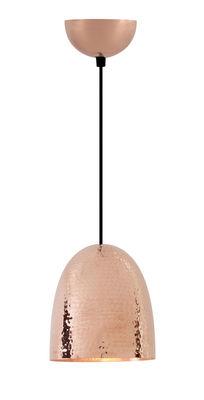 Suspension Stanley Small / Ø 18 x H 20 cm - Cuivre martelé - Original BTC Cuivre en Métal