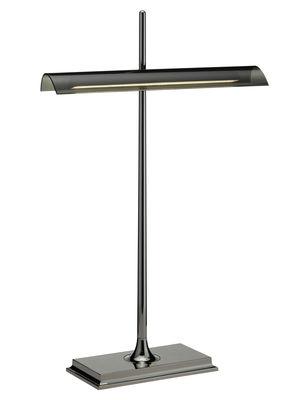 Foto Lampada da tavolo Goldman - LED di Flos - Fumé,Nero metalizzato - Metallo