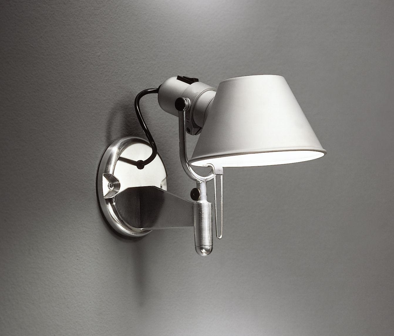 tolomeo faretto wall light aluminium by artemide. Black Bedroom Furniture Sets. Home Design Ideas