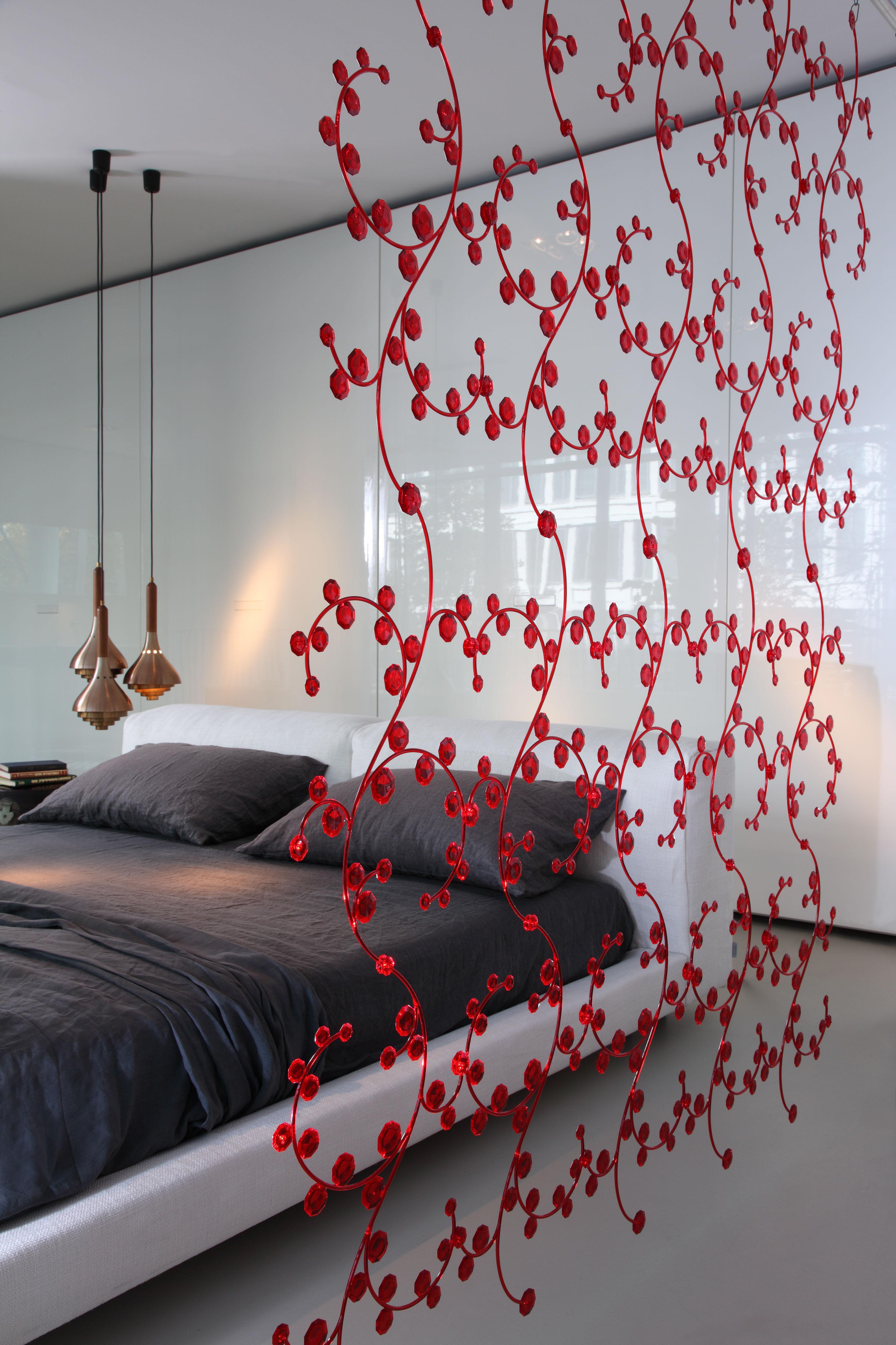 cloison antoinette vert transparent koziol. Black Bedroom Furniture Sets. Home Design Ideas