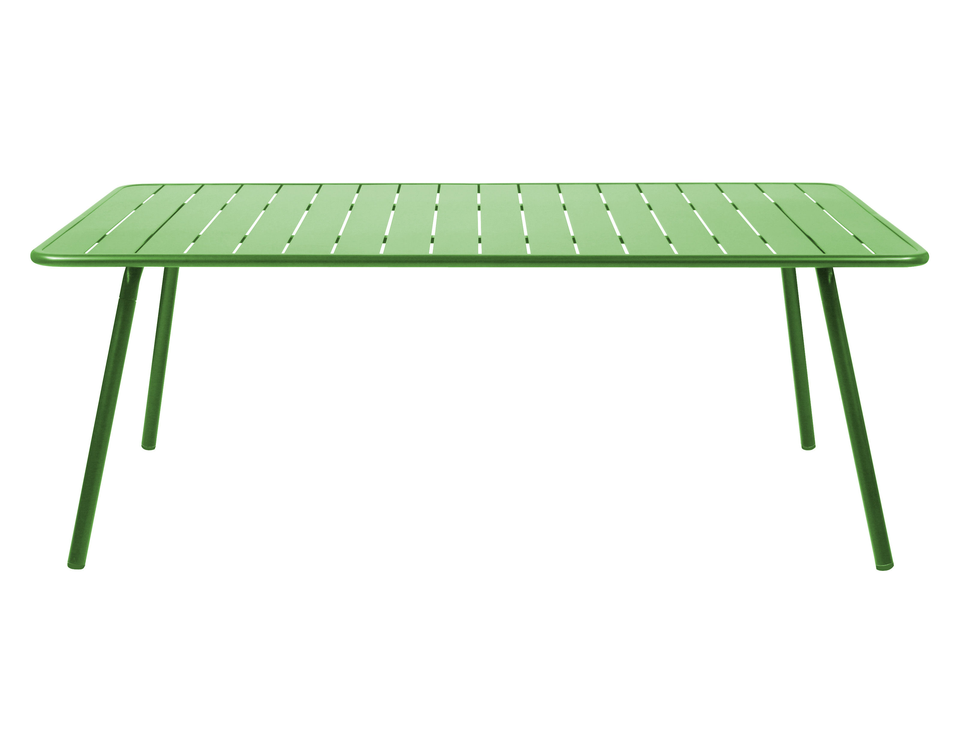table luxembourg 8 personnes 207 x 100 cm vert prairie fermob. Black Bedroom Furniture Sets. Home Design Ideas