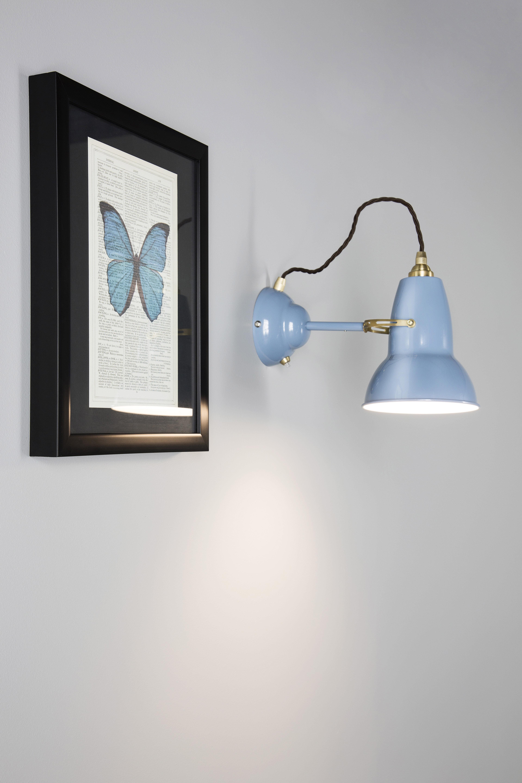 Original 1227 Wall light - Brass Elephant Grey by Anglepoise