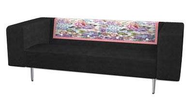 canap droit bottoni 2 places l 170 cm noir anthracite moooi. Black Bedroom Furniture Sets. Home Design Ideas