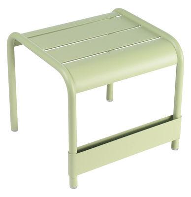 Foto Tavolino Luxembourg - L 42 cm di Fermob - Tiglio - Metallo Tavolino d'appoggio