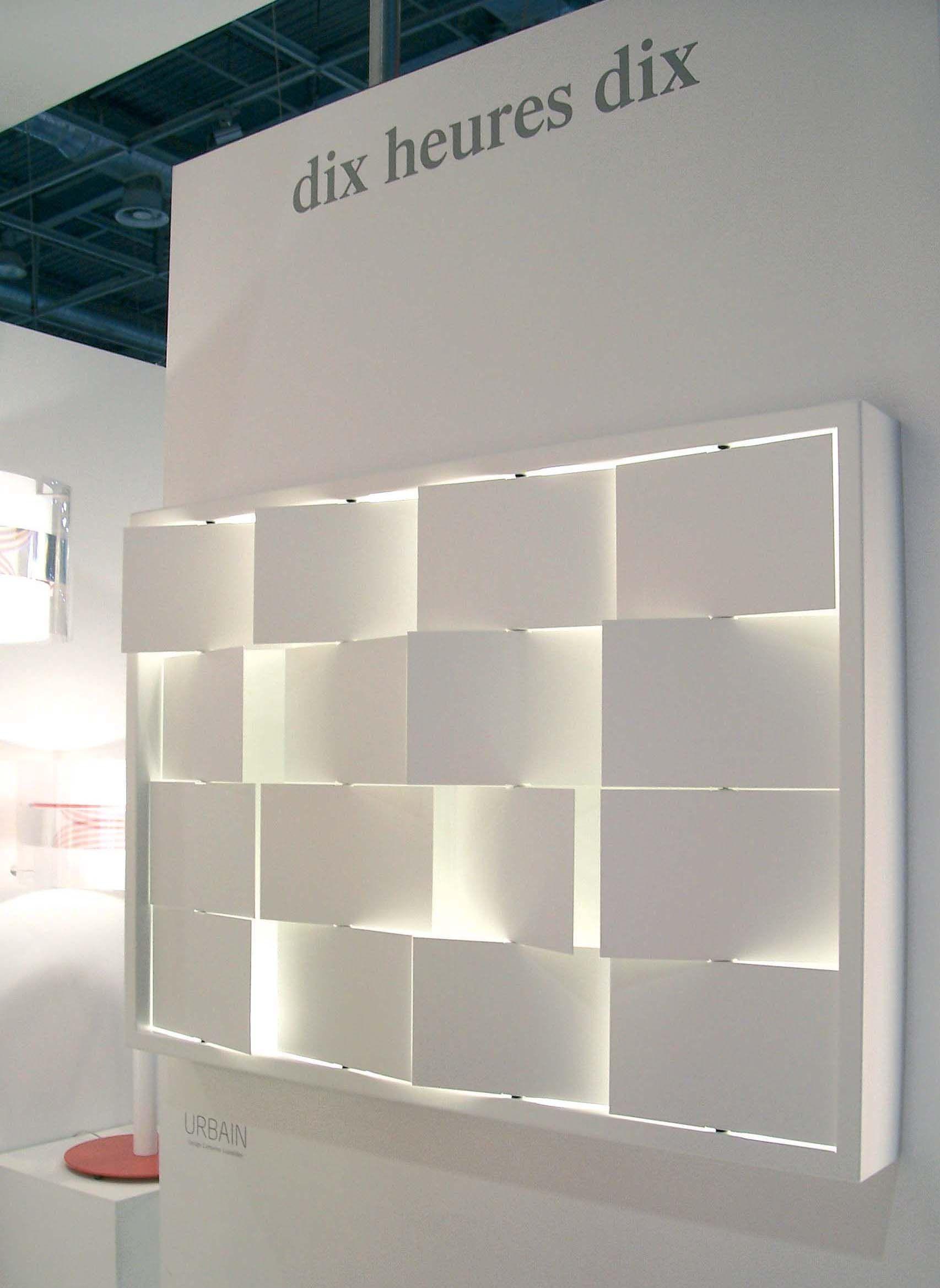 applique urbain blanc blanc dix heures dix. Black Bedroom Furniture Sets. Home Design Ideas