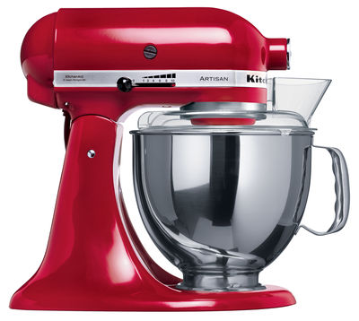 Batteur sur socle Artisan - KitchenAid  Rouge Empire