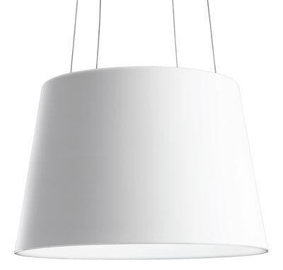 Image of Suspension Aurea LED - Fontana Arte Blanc / Int. Blanc