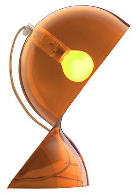 Lampe de table Dalù - Artemide  Orange transparent