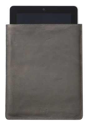 Leather Protection case - For Ipad - 21 x 26 cm