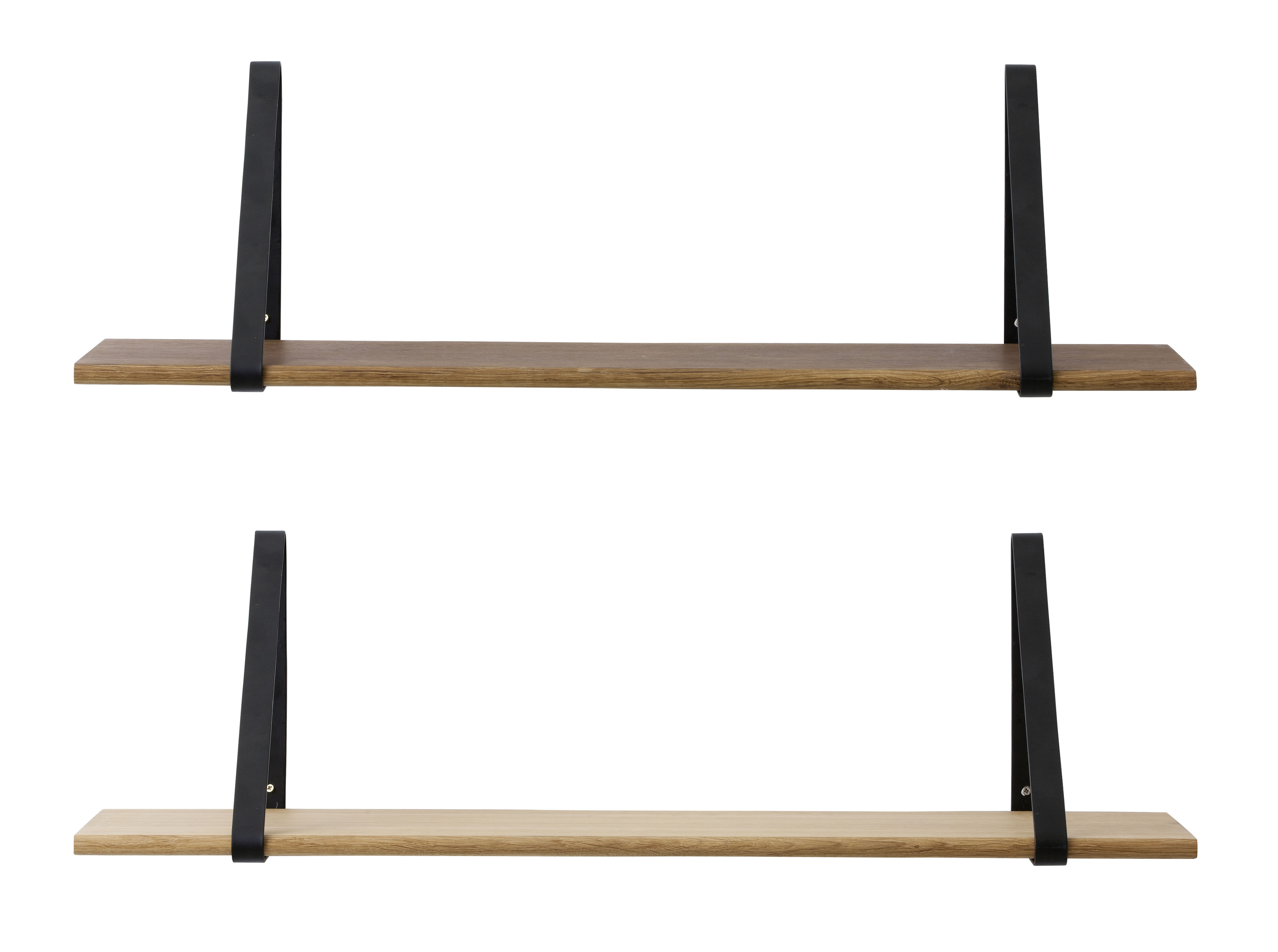 Set Of 2 Shelf Brackets For The Shelf Black By Ferm Living