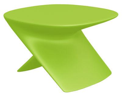 Foto Tavolino Ublo - Pouf di Qui est Paul ? - Verde - Materiale plastico