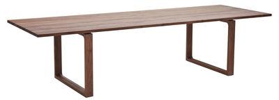Table Essay 295 x 100 cm Fritz Hansen Bois foncé en Bois