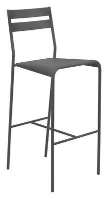 Foto Sedia da bar Facto di Fermob - Blu cobalto - Metallo