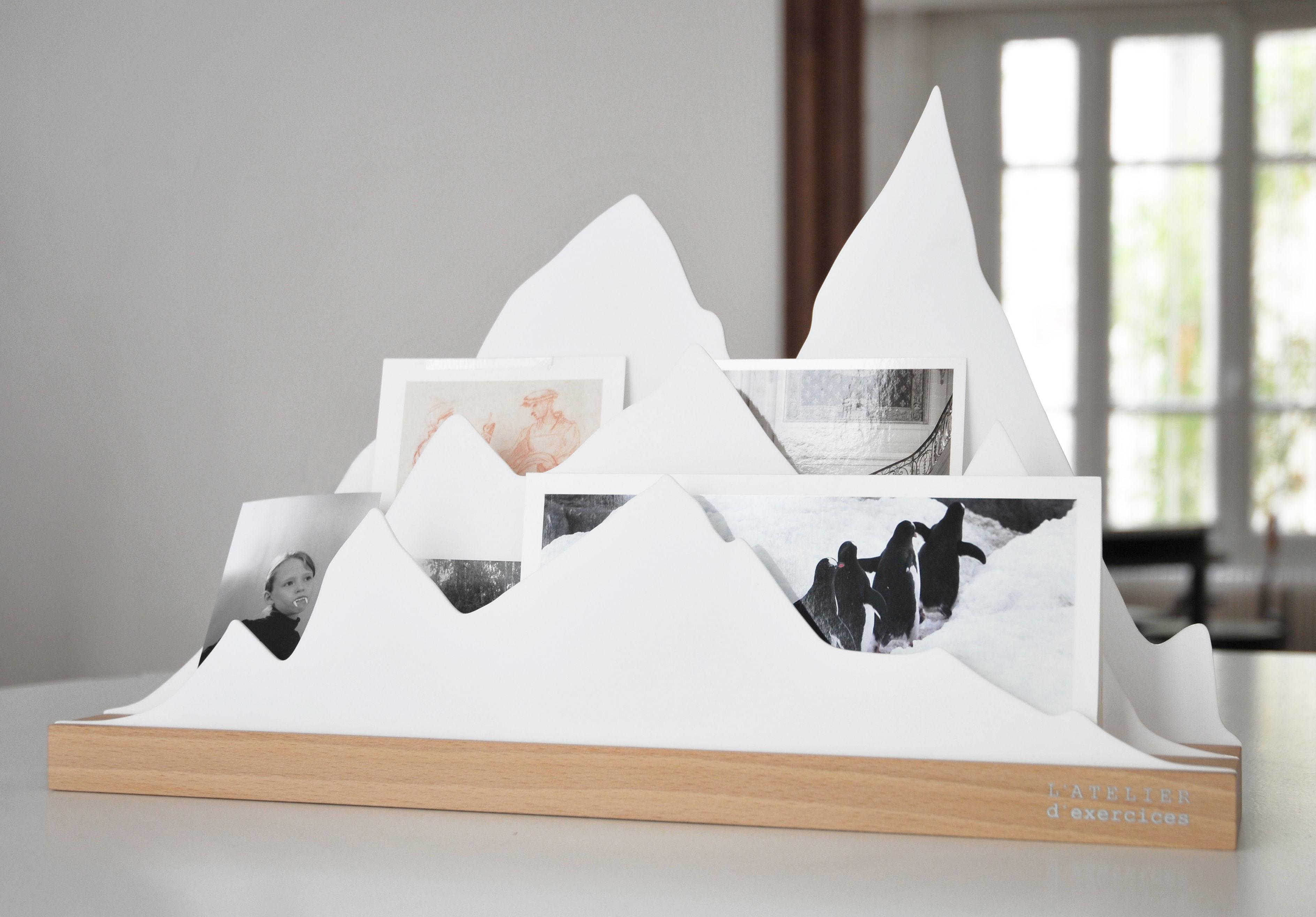 organiseur de bureau alpes l 45 cm alpes blanc l. Black Bedroom Furniture Sets. Home Design Ideas