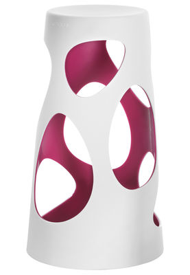 Foto Sgabello bar Liberty - H 74 cm di MyYour - Viola - Materiale plastico