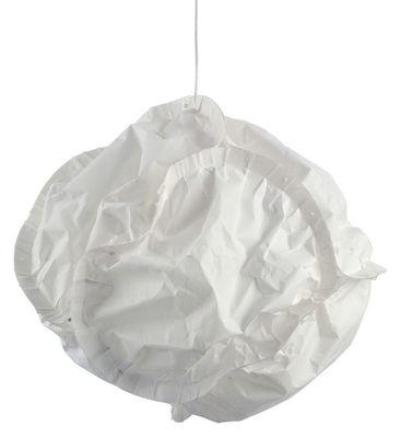 Foto Sospensione Cloud di Belux - Bianco sporco - Materiale plastico
