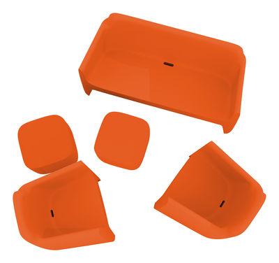 Foto Sofà Translation - offerta speciale : 1 divano + 2 poltrone + 1 tavolo di Qui est Paul ? -  - Materiale plastico