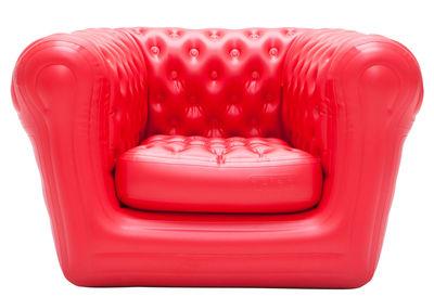Foto Poltrona gonfiabile Big Blo 1 - / Gonfiabile di Blofield - Rosso - Materiale plastico