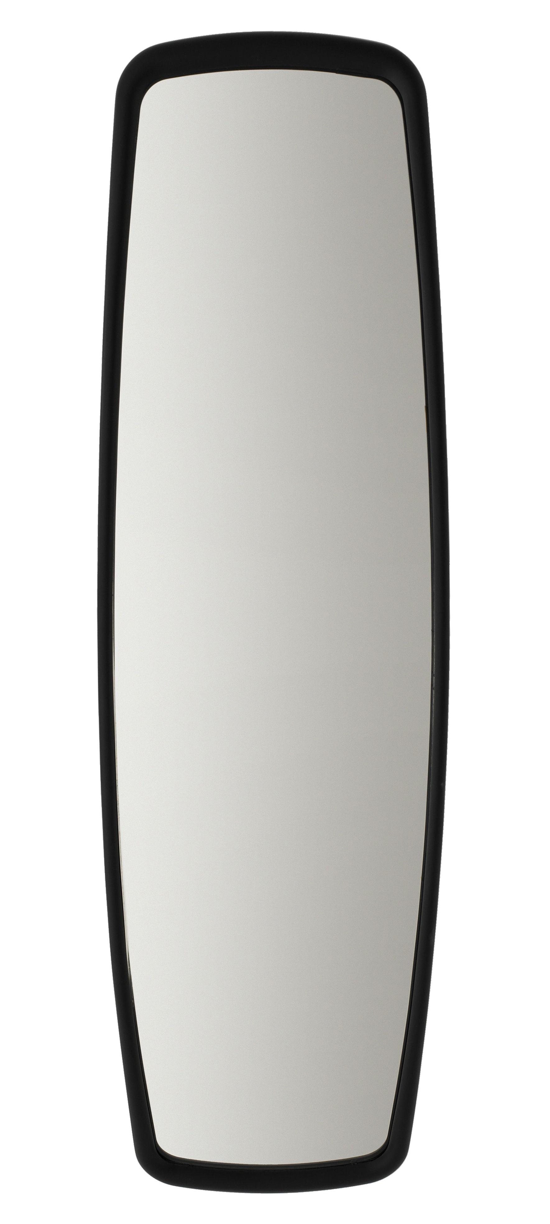 Miroir convex mirror 90 x 30 cm noir established sons for Miroir 30 90