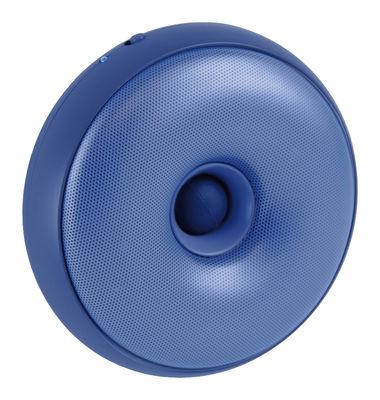 enceinte bluetooth hoop portable sans fil bleu lexon. Black Bedroom Furniture Sets. Home Design Ideas
