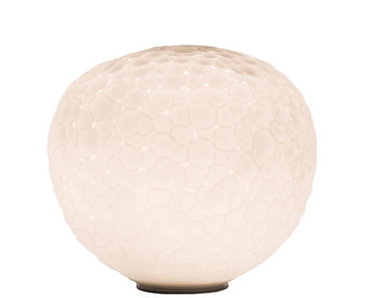 Foto Lampada da tavolo Meteorite - / Ø 15 cm - Edizione limitata di Artemide - Bianco - Vetro