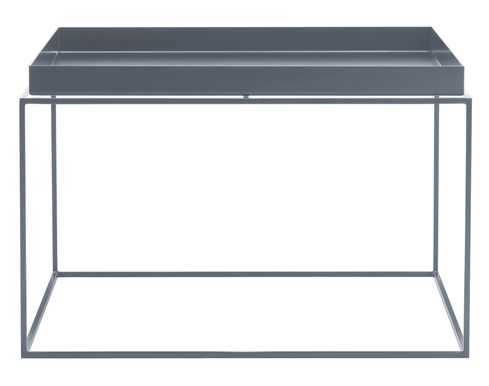 Tray Coffee Table Square H 35 Cm 60 X 60 Cm Grey By Hay