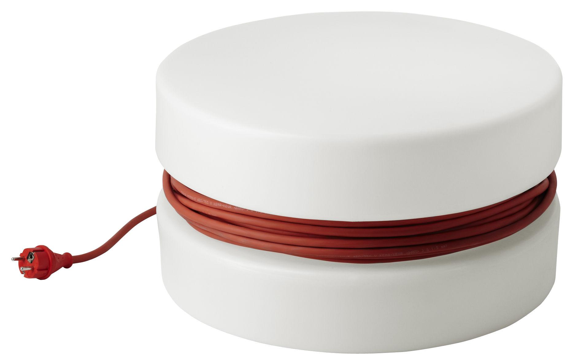lampe de sol yoyo pour l 39 int rieur et l 39 ext rieur blanc. Black Bedroom Furniture Sets. Home Design Ideas