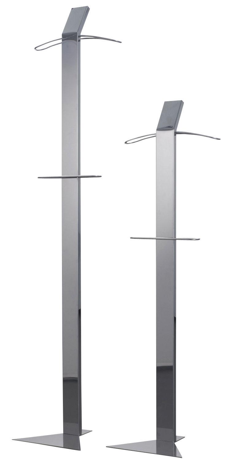 portemanteau struttura inox finition miroir hauteur 135 cm zeus. Black Bedroom Furniture Sets. Home Design Ideas