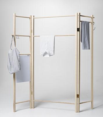 360 klappbar paravent l 182 cm nomess kleiderst nder. Black Bedroom Furniture Sets. Home Design Ideas