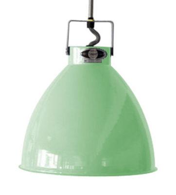 Suspension Augustin Medium Ø 24 cm - Jieldé Vert d´eau brillant en Métal