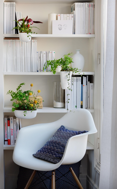 Pot de fleurs ho pour tag res et biblioth ques taille for Tendance deco interieur