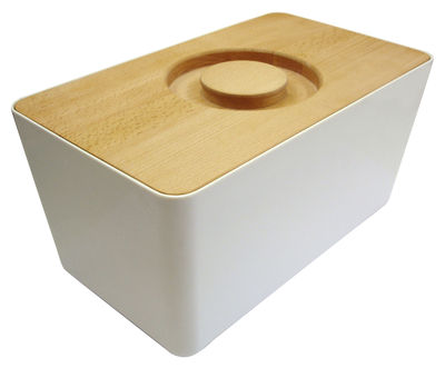 bo te pain m lamine couvercle planche d couper blanc joseph joseph. Black Bedroom Furniture Sets. Home Design Ideas