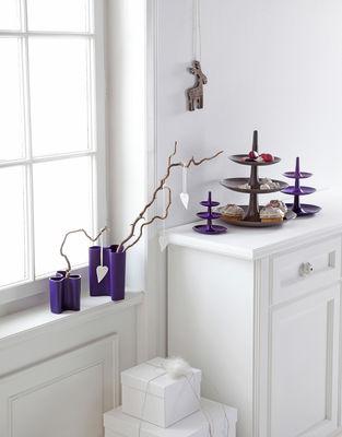 porte fruits babell 31 4 x h 34 cm taupe koziol. Black Bedroom Furniture Sets. Home Design Ideas