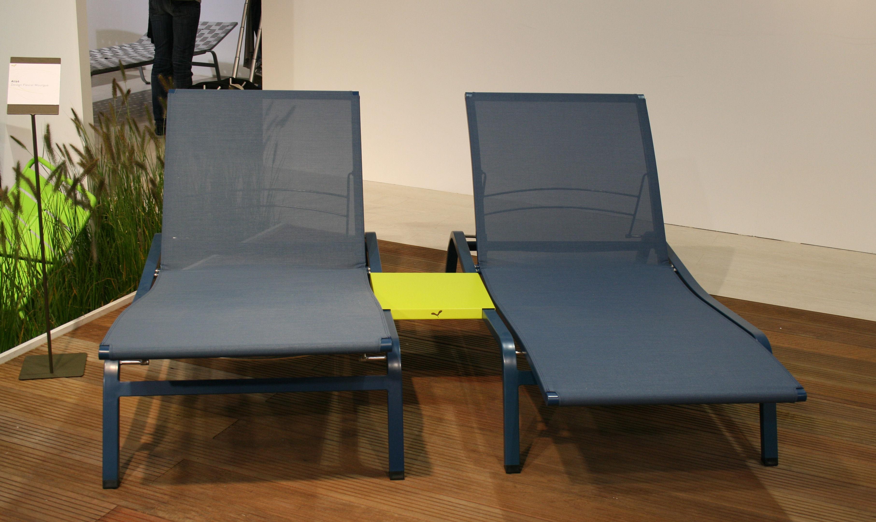 bain de soleil aliz larg 80 cm 3 positions r glisse fermob. Black Bedroom Furniture Sets. Home Design Ideas