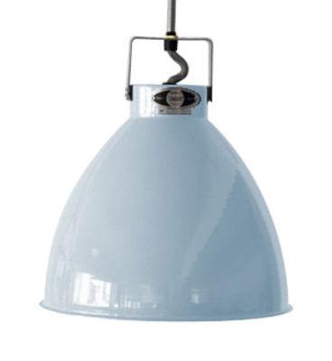 Foto Sospensione Augustin - Small Ø 16 cm di Jieldé - Blu pastello brillante - Metallo