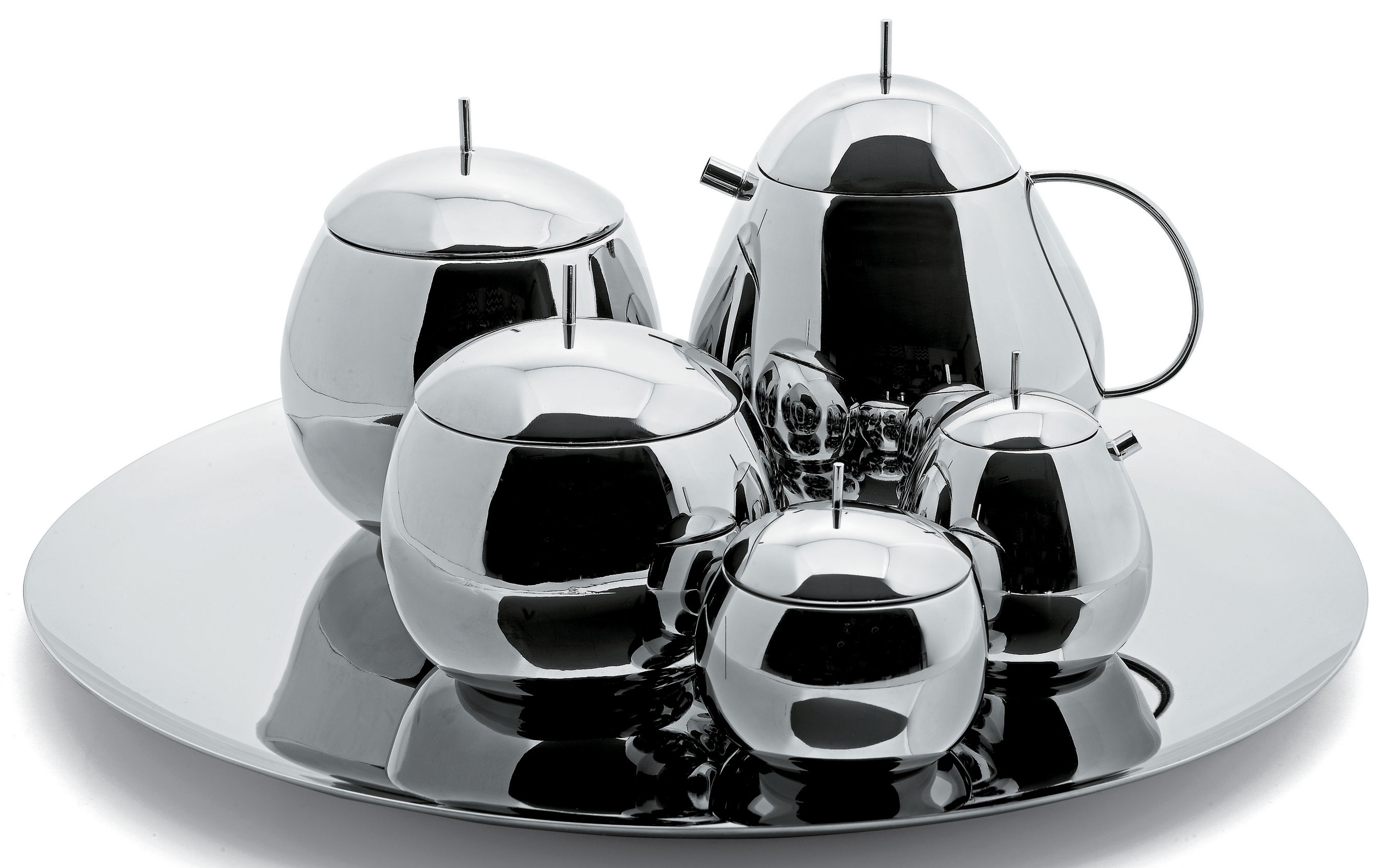 Fruit Basket Teapot Steel By Alessi