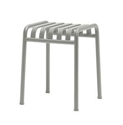 Foto Sgabello Palissade / H 45 cm  - R & E Bouroullec - Hay - Grigio chiaro - Metallo