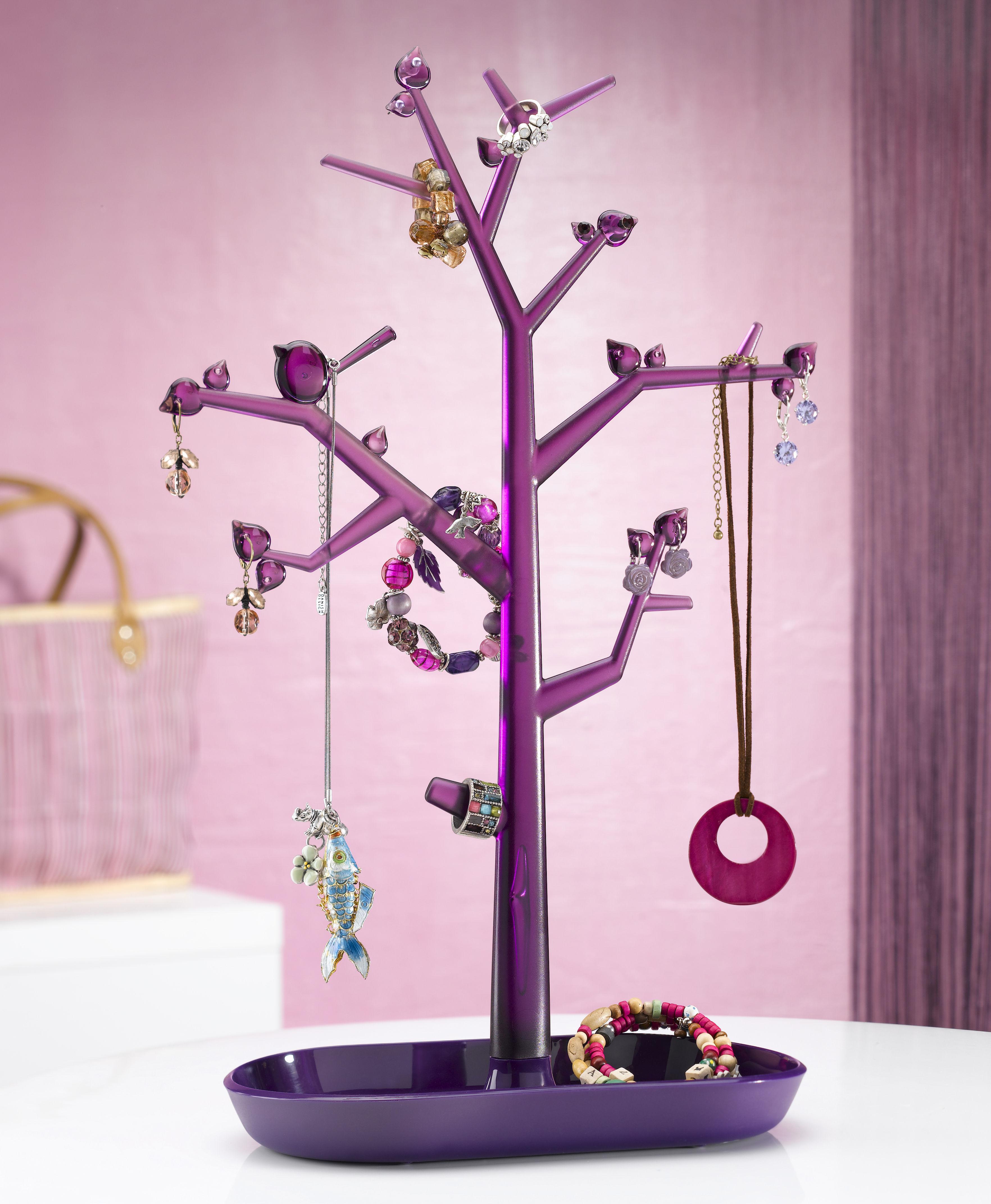 porte bijoux pi p l h 43 5 cm framboise framboise. Black Bedroom Furniture Sets. Home Design Ideas