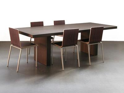 chaise bianca bois m tal weng zeus. Black Bedroom Furniture Sets. Home Design Ideas
