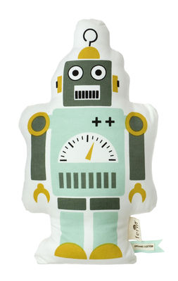 Mr. Small Robot Cushion