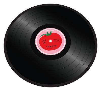 Tomato vinyl Chopping board