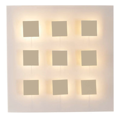 Metalo 9 Wall light - White