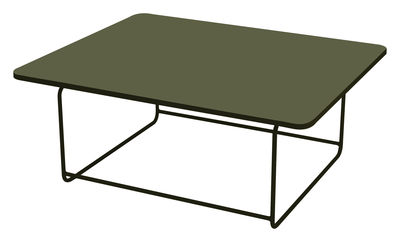Ellipse - Low table 110 x 90 cm - H 48 cm