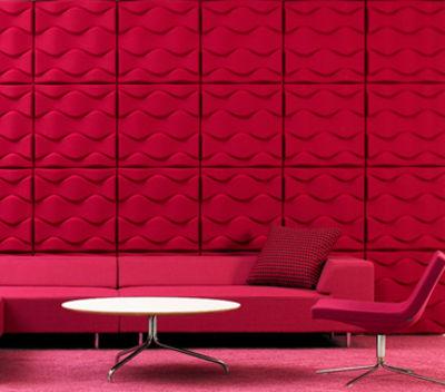 panneau acoustique mural soundwave flo gris anthracite. Black Bedroom Furniture Sets. Home Design Ideas