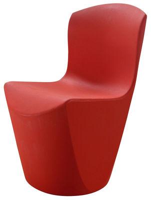 Foto Sedia Zoe di Slide - Rosso - Materiale plastico