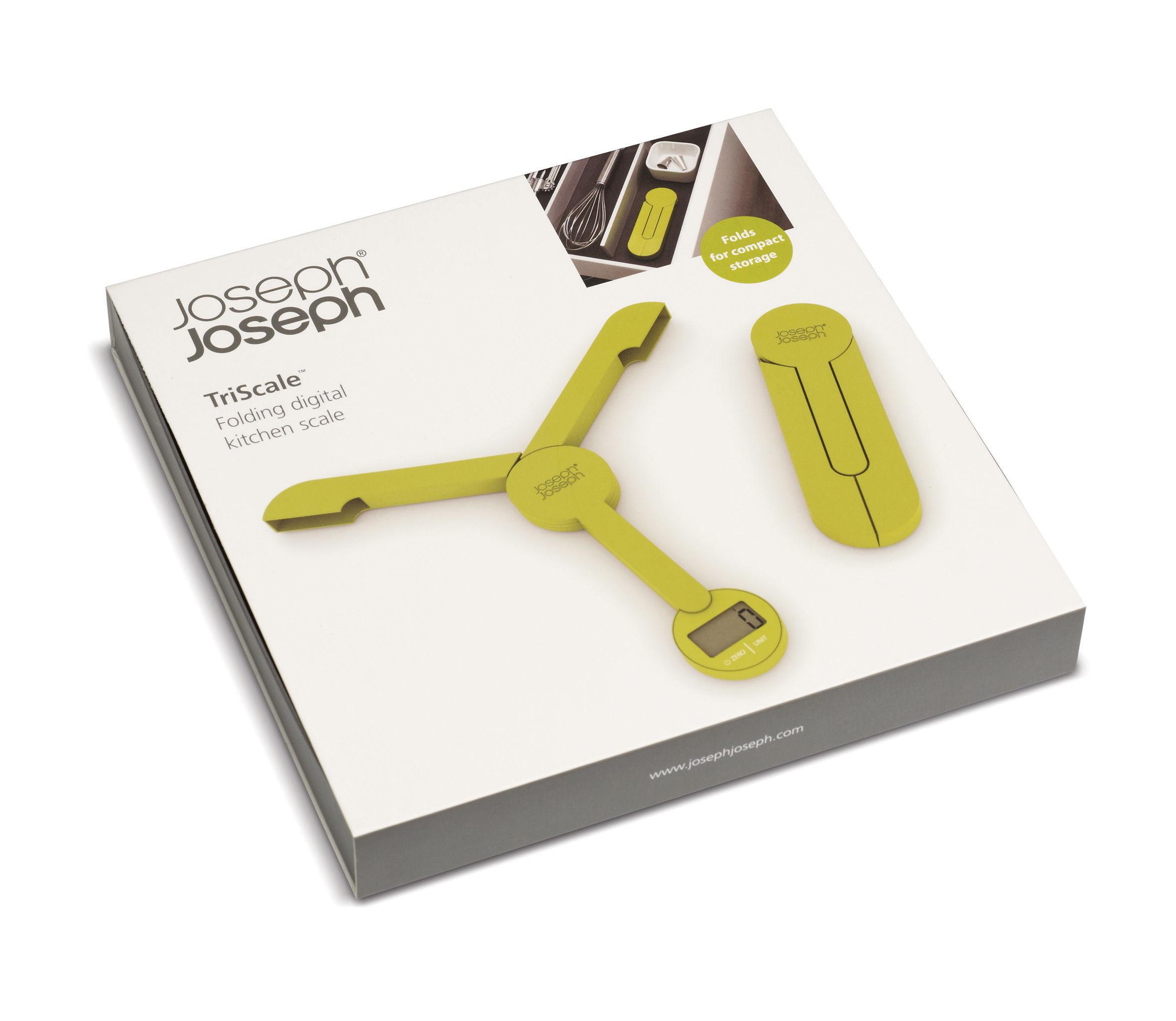 Balance de cuisine lectronique triscale pliable vert joseph joseph - Koziol balances ...