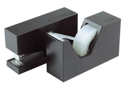 Buro set aus tacker und abroller lexon accessoire de for Accessoire de bureau design