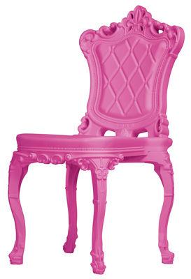 Foto Sedia Princess of Love - /Polietilene di Design of Love by Slide - Rosa - Materiale plastico